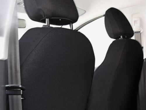 Set Completo Cubiertas de Asiento de Coche Apto Audi A6-Gris Carbón
