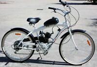 2 Stroke 80cc Motorised Bicycle Motor Engine Kit For Motorised Fuel Push Bike Us