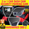 Dash Camera In Car Vehicle Security Cam Hardwired Security Parking Mode Backup