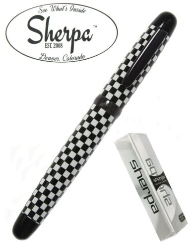 Checkers Sherpa Pen Holder #5041 with Black Sharpie