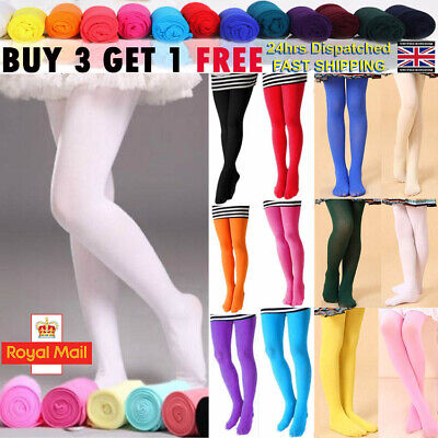 Girl Kid Tights Opaque Pantyhose Ballet Dance Socks Tights Stockings Pantyhose