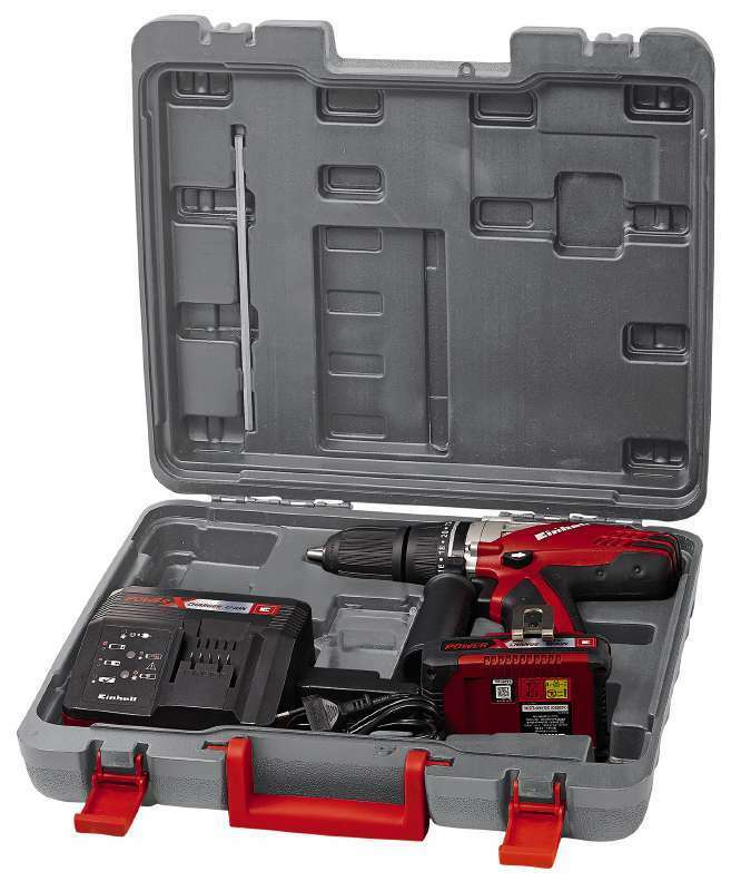 Einhell  Akku-Schlagbohrschrauber TE-CD 18-2 Li-i Kit Bohrschrauber im Koffer