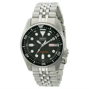 Seiko-Mens-Automatic-200m-Divers-Watch-with-Stainless-Steel-Band-amp-Black-Dial