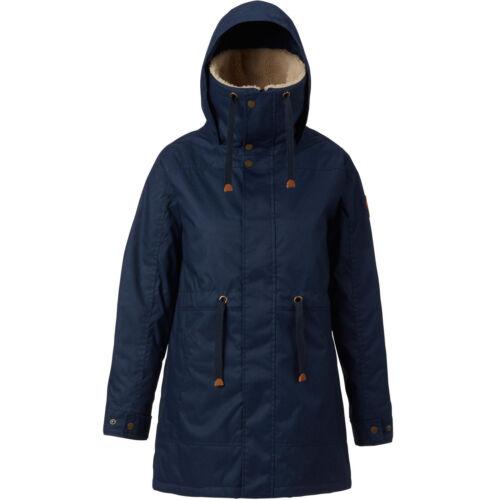 Burton Hazelton Jacket Damen-Mantel Wintermantel Kurzmantel Sherpa Teddyfell