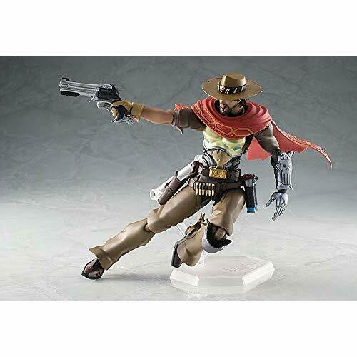 GOOD SMILE COMPANY figma Overwatch McCREE Action Figure w// Tracking NEW