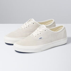 Vans Pig Suede Authentic Skate Sneakers Low Top Shoes White ...