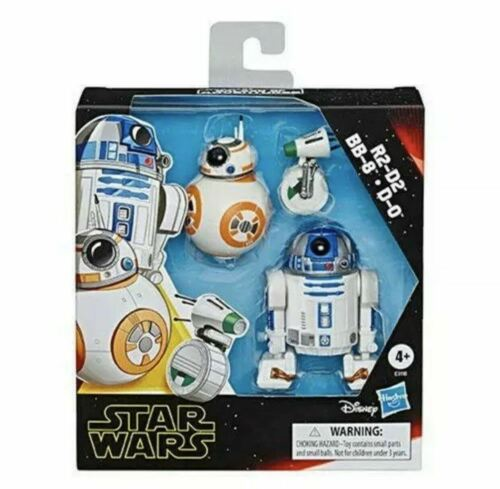 Star Wars The Rise of Skywalker Galaxy of adventures R2-D2 BB-8 D-O new in box