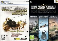 company of heroes anthology & world war two ww2 combat bundle