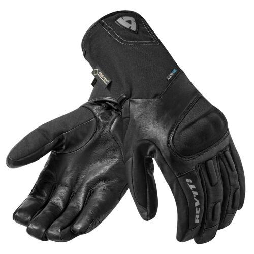 REV/'IT STRATOS GTX Herren Motorradhandschuhe Leder//Textil Touring schwarz
