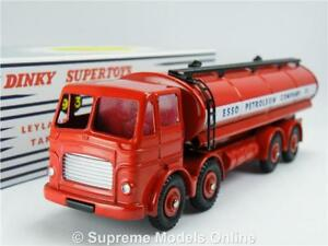 NEW LEYLAND OCTOPUS TANKER ESSO ATLAS EDITIONS BOXED DINKY SUPERTOYS 943