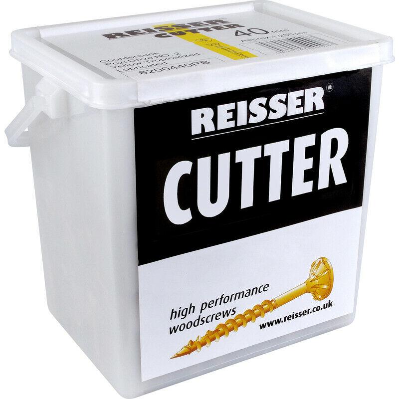 NEW Reisser Cutter Pozi Screw Tub 4.0 x 50mm UK SELLER, FREEPOST