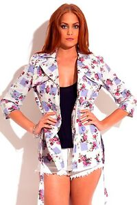 Double-breasted-cotton-floral-checkerboard-jacket-by-Naranka-USA-size-L