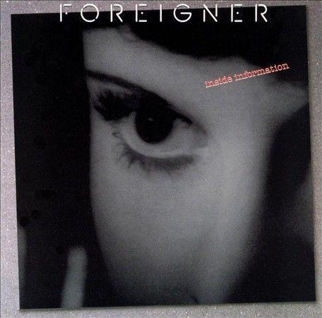 Foreigner - Inside Information  (CD, 1987, Atlantic (Label) 781808-2 NEW SEALED