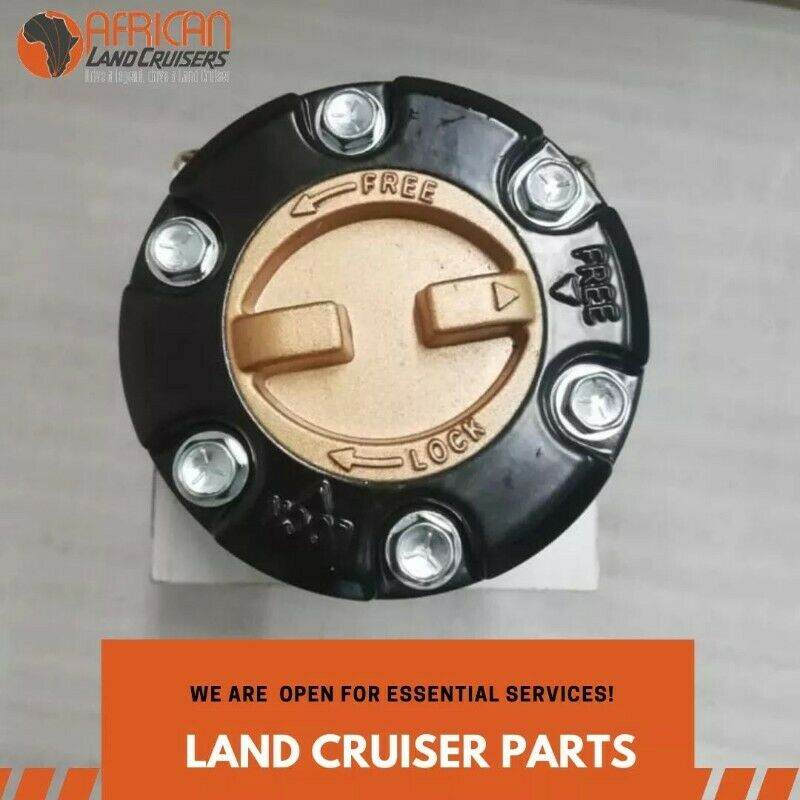 Toyota Land Cruiser Freewheel Lock Hubs Manual