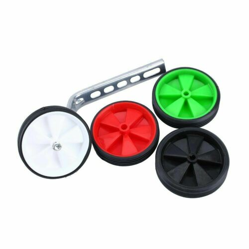 "Universal Kids Bicycle Training Wheel Stabilisers fit 12/"" 14/"" 16/"" 18/"" 20/"" Bikes"