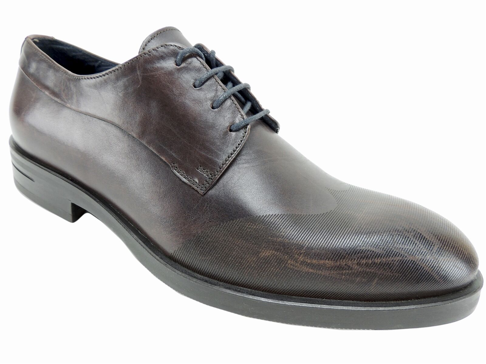 Kenneth Cole New York Men's Catch Phrase Wingtip Oxfords Brown Leather Size 9 M