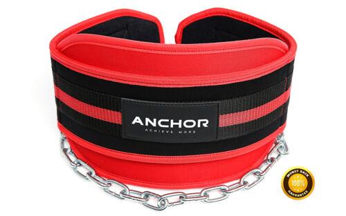 Trempage ceinture Dip Poids Lifting Corps Bâtiment Longue Chaîne Exercice Gym Entraînement