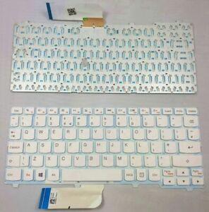 NUOVO-Bianco-Lenovo-Ideapad-100S-11IBY-Laptop-Tastiera-UK-Layout-senza-cornice