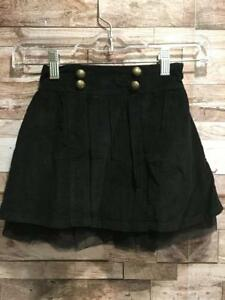 Nwt Baby Gap Babygap Girls Black Corduroy Skirt Tulle 5t 5 Years Buttons Toddler Pleasant In After-Taste Baby & Toddler Clothing Girls' Clothing (newborn-5t)