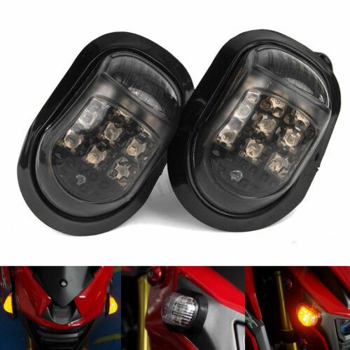 Paar 9 LED 12V Motorrad Miniblinker Microblinker Blinker Motorrad Roller ATV FC