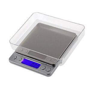 BILANCIA ELETTRONICA BILANCINO DI PRECISIONE DIGITALE LCD PESA 0,01g 500g PESO