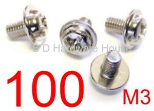 M3 Nylon Plastic Post Standoff Screws-Standoffs Screw PCB Spacer--Lian Li 100