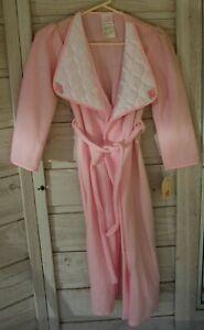 NEW  ROSE COTTAGE Fleece PLUSH Pajama Bath robe Girl sz 10 **Vintage Girl Robe