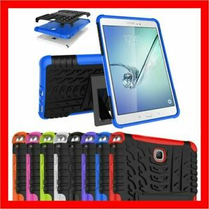 """Shockproof Armor Heavy Duty Case Cover for Samsung Galaxy Tab A S2 S4 8.0"""" 10.1"""""""