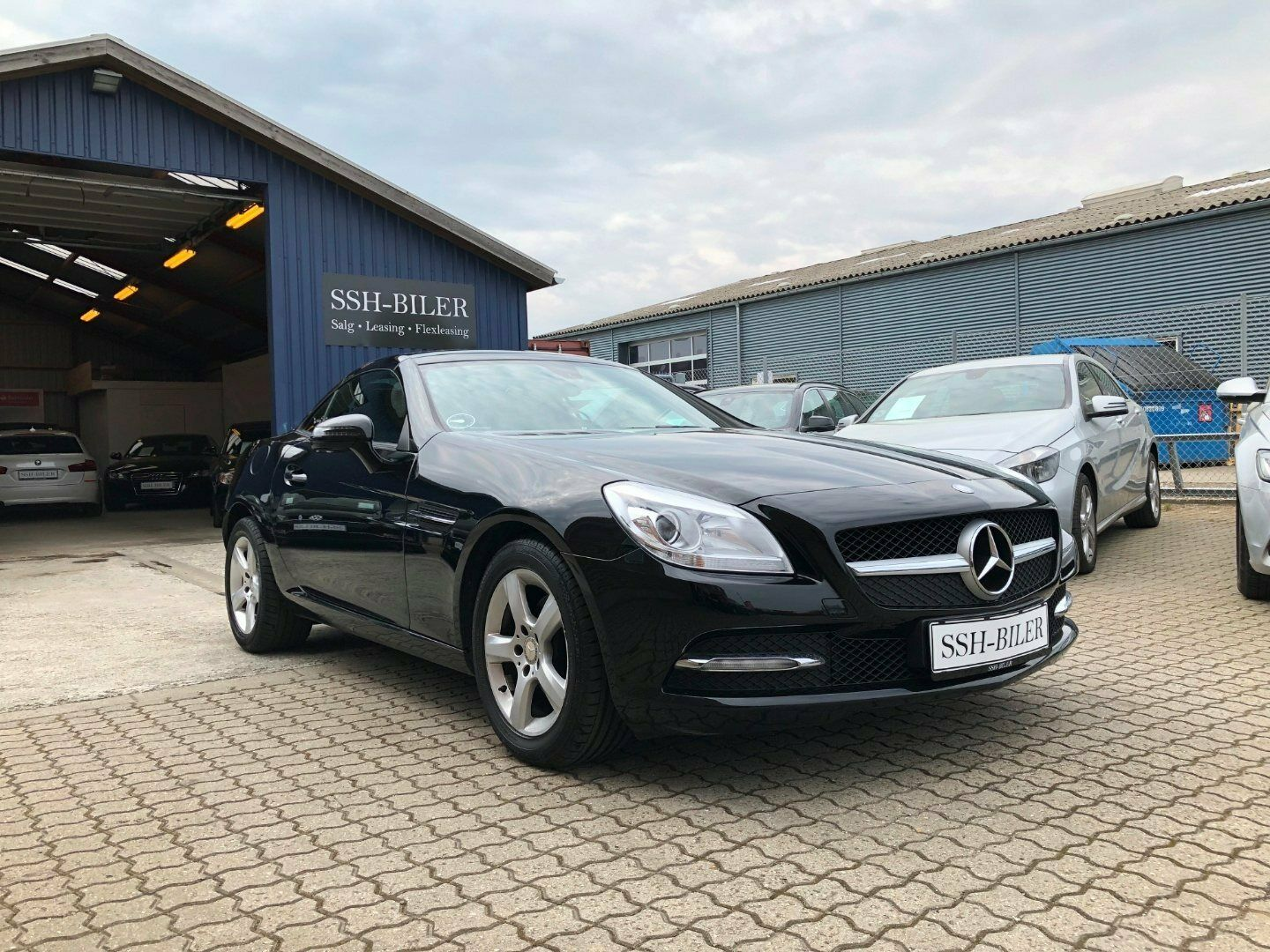 Mercedes SLK200 1,8 aut. BE 2d - 329.995 kr.