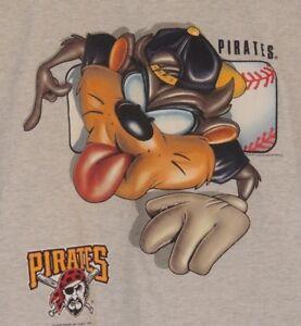 VTG-1999-Taz-Pittsburgh-Pirates-Boys-Youth-Size-14-16-Baseball-MLB-T-Shirt