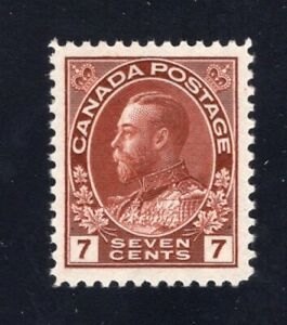 Canada-Sc-114b-1924-7c-red-brown-Admiral-Mint-VF-NH