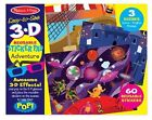 Melissa & Doug Easy-to-see 3d Reusable Sticker Pad Adventure