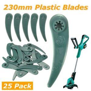 25Pcs-230mm-Replacement-Grass-Strimmer-DuraBlade-Blades-for-BOSCH-ART-23-18-LI