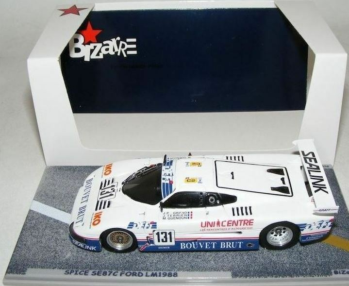 hasta 60% de descuento Spice SE87C Ford Cosworth - Grand Terrien Terrien Terrien Guenoun -  Le Mans 1988  131 - Bizarre  últimos estilos
