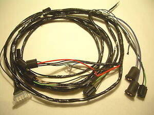 1961 61 chevy impala belair biscayne engine wiring harness 348 vintage car  & truck parts