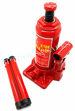 6 Ton Bottle Jack Hydraulic Portable Bottle Jack Heavy Duty Car Repair 12000 Lbs