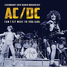 AC/DC w BON SCOTT New 2017 UNRELEASED 1st Tour 1974 LIVE CONCERT CD