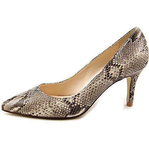 Sconto del 70% a buon mercato Cole Haan donna donna donna Juliana Sneak Print Leather Pump Heels scarpe Natural 8 NEW  economico e di alta qualità