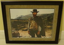 Clint Eastwood Signed Good Bad Ugly Autographed Framed 16x20 Photo PSA/DNA COA