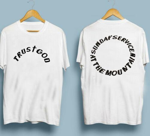 Yeezy Kanye West Sunday Service Trust God T Shirt GILDAN REPRINT