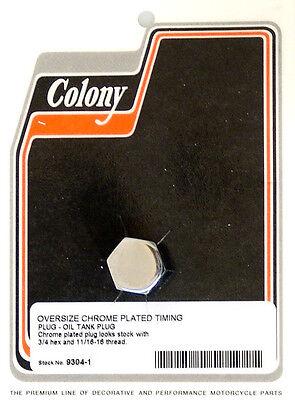 Harley 52-69 FL XL Timing Hole Plug OS Colony 9304-1
