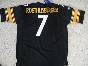 PITTSBURGH-STEELERS-AUTHENTIC-JERSEY-BEN-ROETHLISBERGER-JERSEY-WITH-TAGS-SZ-52