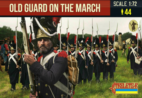 OLD GUARD ON THE MARCH STRELETS 181 Soldatini 1//72