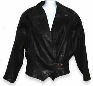VTG-Winlit-Leather-Motocycle-Jacket-1980s-Cropped-Embossed-Suede-And-Black
