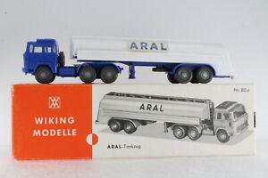 A-S-S-WIKING-LKW-ALT-MAGIRUS-235-D-SATTELZUG-ARAL-1969-GK-801-9-CS-958-1-ASC-ORK