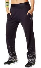 Zumba Women's Tri-Me Jammin Jersey Pants Sz XS - Black - NWT