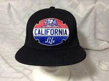 Baseball cap  California Life Black Emblem Red Blue Withe One Size Jokes Brand