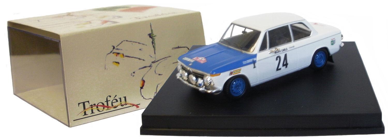 Trofeu 1706 BMW 2002 Monte Carlo Rally 1969 - T Makinen 1 43 Scale