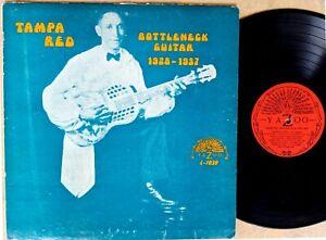 PREWAR-BLUES-LP-TAMPA-RED-Bottleneck-Guitar-1928-1937-YAZOO-L-1039-1st-pressing