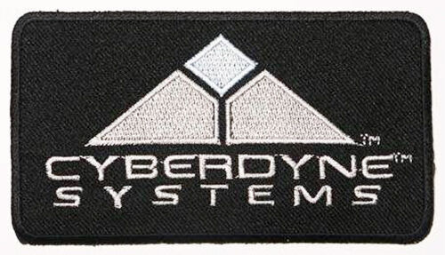 "TERMINATOR Cyberdyne Systems 5"" Prop Movie Patch"